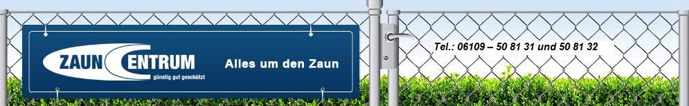 Banner-Zauncentrum
