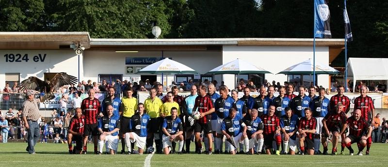 Jubiläumsspiel gg. Eintracht Frankfurt Traditionsmannschaft, 18. Juni 2014.